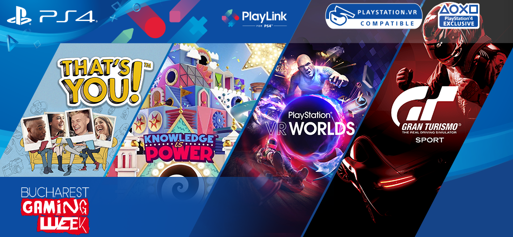 PlayStation participă la Bucharest Gaming Week