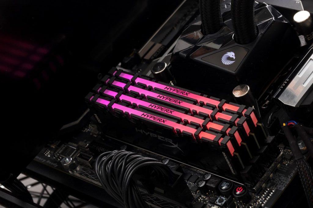 CES 2018: HyperX lansează primele memorii DDR4 RGB din lume sincronizate prin infraroșu