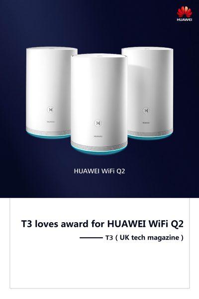Huawei Mate 10 Pro și Seria WiFi Q2 impresionează la CES 2018