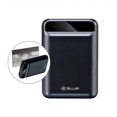 Micul powerbank Tellur te ajută când te lasă bateria de la mobil de la prea mult Facebook
