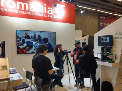 Cum se prezinta delegatia Romaniei la MWC Barcelona 2018