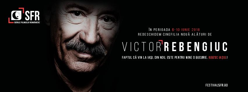Astăzi, 10 februarie, de ziua lui Victor Rebengiuc, redeschidem Cinefilia VICTOR REBENGIUC VA FI ANIVERSAT ÎN 2018 LA IAȘI, ÎN CADRUL FESTIVALULUI SFR Actorul este invitatul special al ediției a 9-a a Serilor Filmului Românesc, iar retrospectiva va conține filmele în care a avut rolurile de referință din cinematografia românească