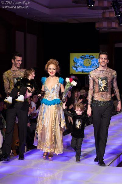 Creatoarea de modă româno-americană Alexandra Popescu-York își lansează la Couture Fashion Week New York colecția 'Magnetic'