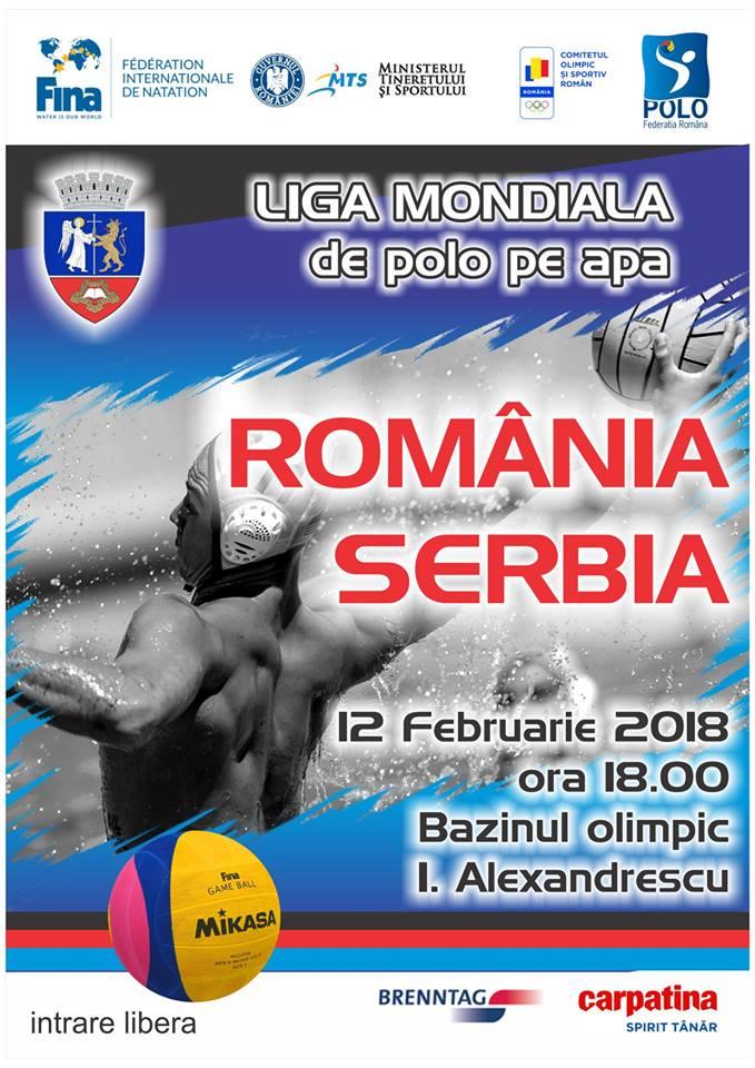 Axis Communications transmite live meciul de polo Romania-Serbia din cadrul World League