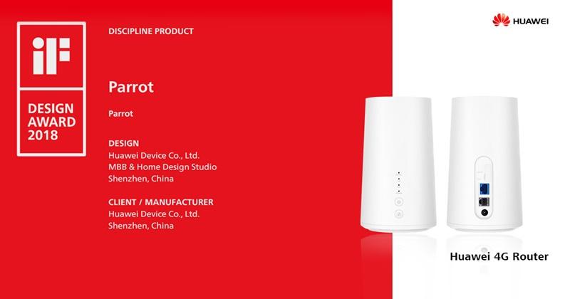 Huawei câștigă 6 premii importante în cadrul International Industrial Design Forum 2018
