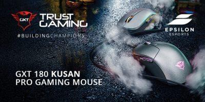 Trust Gaming lansează modelul Kusan, un nou mouse de gaming dezvoltat împreună cu EPSILON eSports