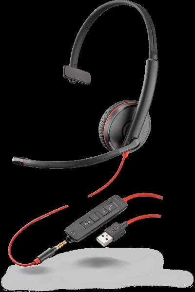 Plantronics oferă Blackwire 3200 UC pentru apeluri telefonice, muzică, clipuri YouTube şi orice experienţă auditivă îţi poţi imagina