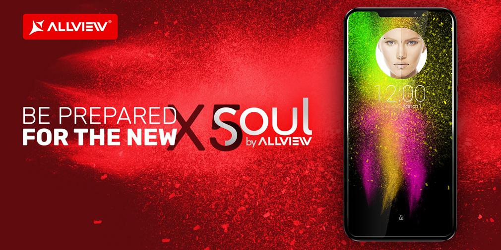 """X5 Soul, viitorul flagship Allview, va putea activa noua versiune AVI fără atingerea ecranului Noul smartphone va avea un display de 6,2"""" într-un body de 5,5"""""""