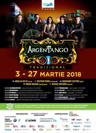 Lugoj și Timișoara, gazdele turneului ArgEnTango Tradițional