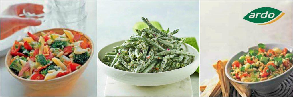 Ardo Bio propune 3 idei de rețete  pentru salate sănătoase de primăvară
