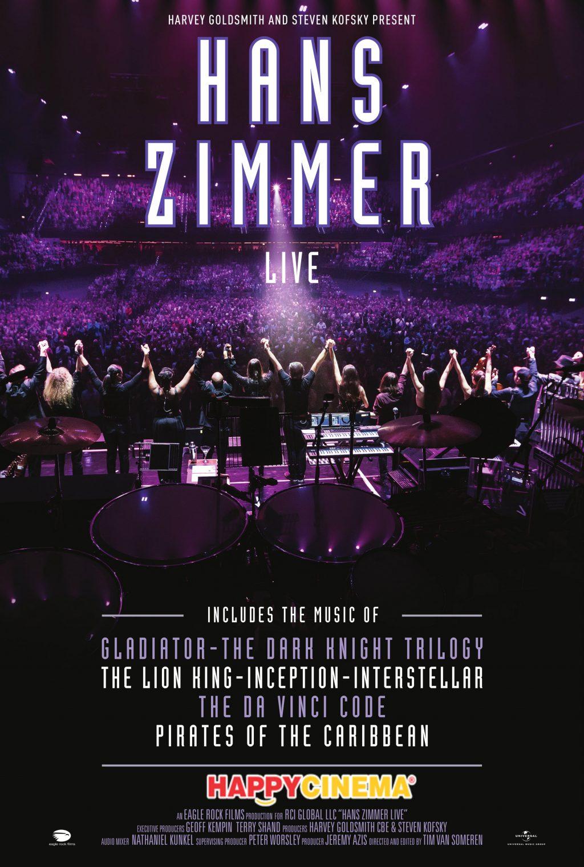 La final de martie, Hans Zimmer Live în Praga  pe marele ecran de la Happy Cinema