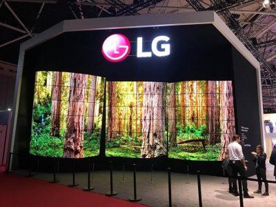 LG PREZINTA SOLUȚII REVOLUȚIONARE DE DIGITAL SIGNAGE  LA PASSENGER TERMINAL EXPO 2018