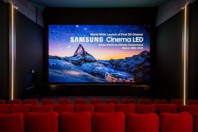 Samsung lansează în premieră ecranul 3D LED pentru cinema la Zurich