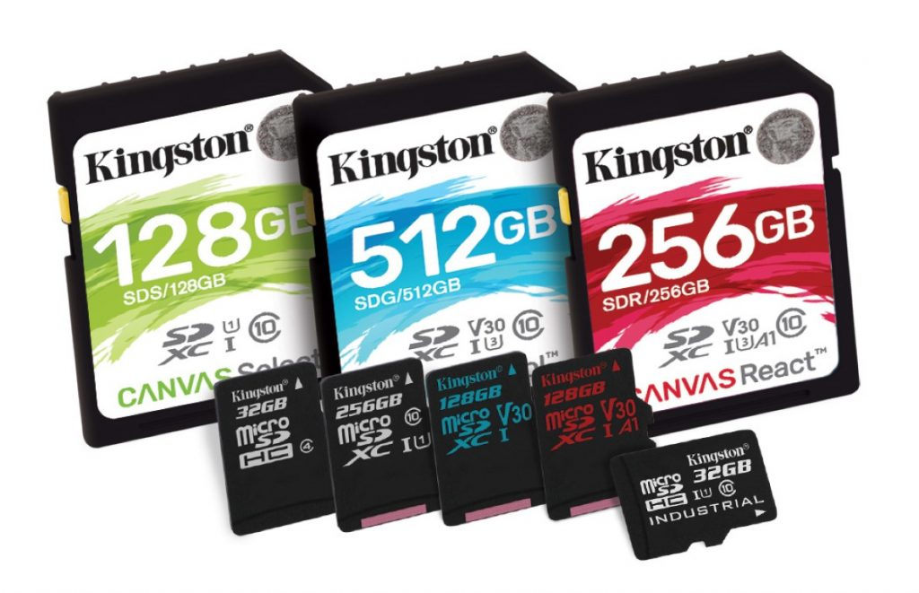 Kingston Digital anunță noua serie de carduri de memorie flash Canvas