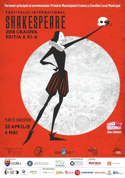 Astăzi începe cea de-a XI-a ediție a Festivalului Internațional Shakespeare de la Craiova