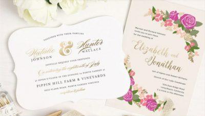 Reguli scrise si nescrise despre invitatiile de nunta