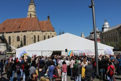 Record de public la Gaudeamus Cluj-Napoca 2018