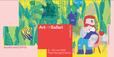 5 To Go și Art Safari București lansează o colecție limitată de pahare de cafea ,cu ocazia ediției 2018 a evenimentului de artă