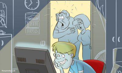 Studiu Kaspersky Lab: Potrivit parintilor, 12% dintre minori sunt dependenti de Internet