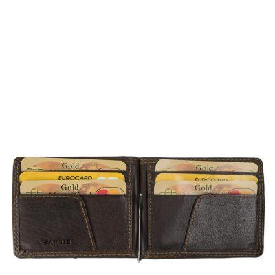 Port-card din piele naturala pentru domnii sofisticati