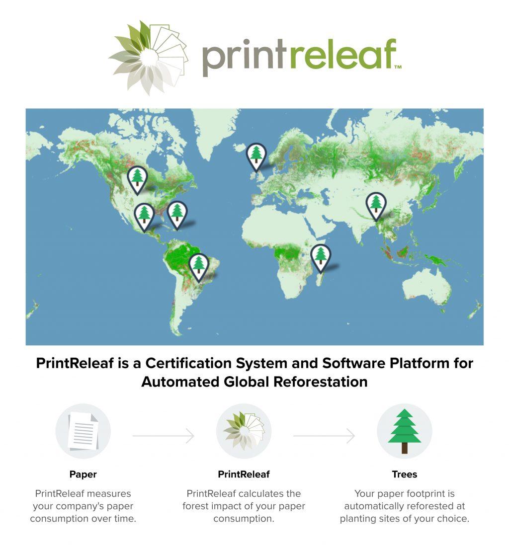 Xerox si PrintReleaf ajuta clientii sa isi indeplineasca obiectivele de sustenabilitate