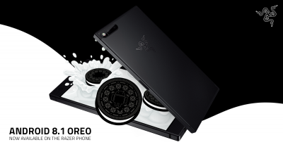 Razer Phone primește actualizarea Android Oreo 8.1