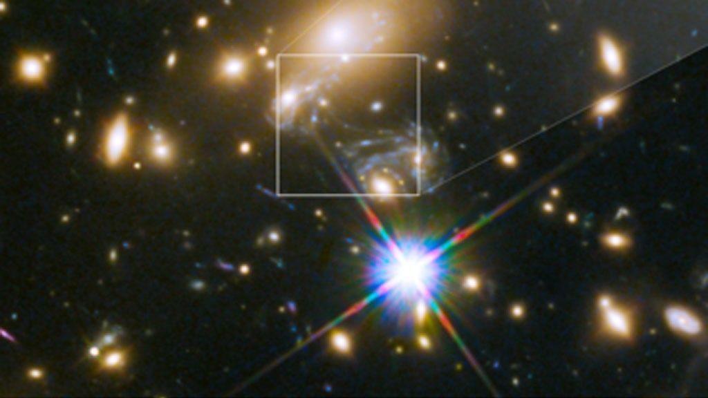 Telescopul Hubble uimeste din nou