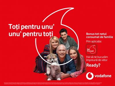 Clientii Vodafone Romania primesc bonusuri de date in functie de traficul consumat de orice utilizator de date mobile, indiferent de retea