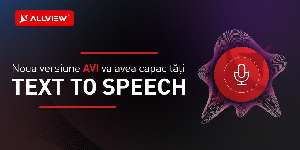 Noua versiune AVI va avea capacități Text to Speech și va oferi feedback vocal utilizatorilor