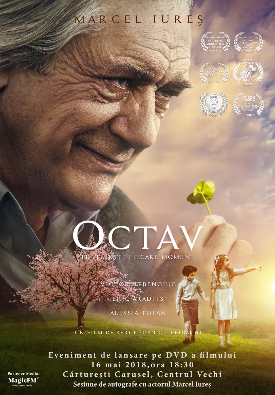 """De astăzi, filmul """"Octav"""" se găsește și pe DVD"""