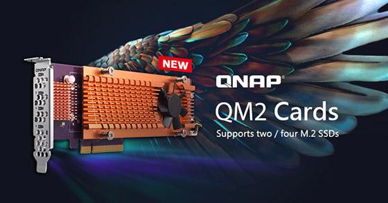 QNAP introduce noile plăci de extensie QM2 PCIe, îmbunătățind performanțele serverelor NAS