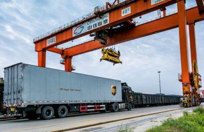 UPS lansează un nou serviciu de transport feroviar între Europa și Hong Kong