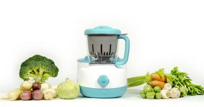 Inovație în diversificarea alimentației bebelușului: aparatul de gătit cu abur  U-Grow VAPORO Votat Produsul Anului®