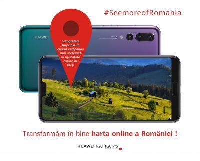 Huawei îi provoacă pe români să #SeeMoreofRomania