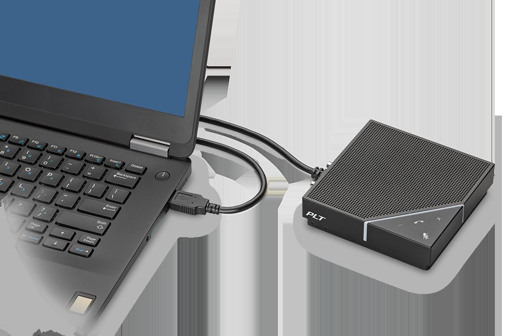 """Dispozitivul care-ţi permite să faci un """"conf-call"""" oriunde vine de la Plantronics: Calisto 7200, speakerphone mobil cu patru microfoane direcţionale"""