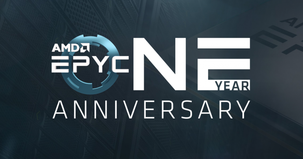 AMD celebrează primul an de EPYC