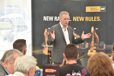 """New Range. New Rules."" Excavatoare Next Generation de la Caterpillar in Romania prin Bergerat Monnoyeur"