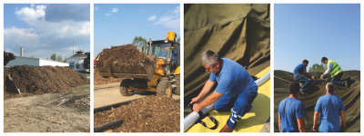 Tehnologia de compostare Gore Cover – metoda de introducere a deseurilor organice in Economia Circulara