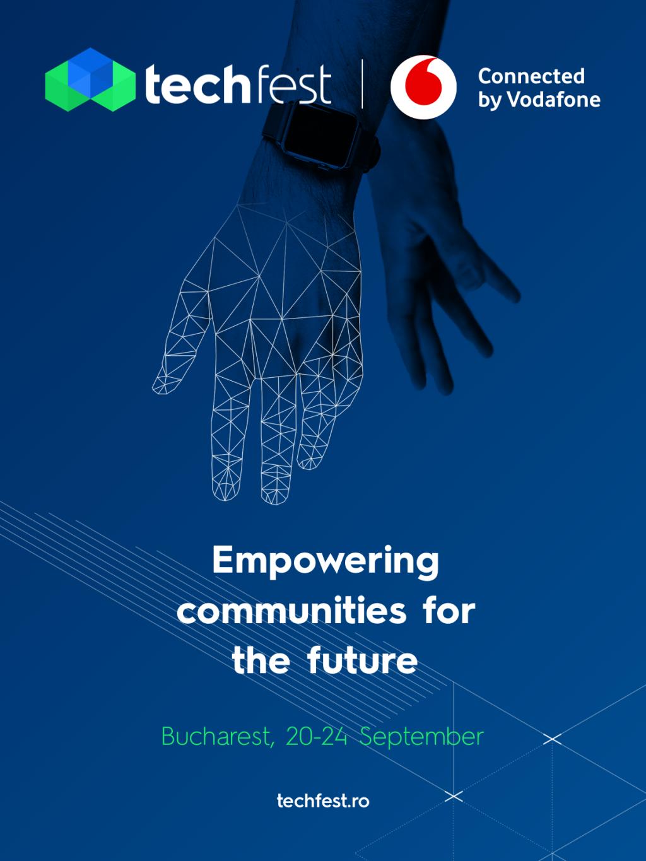 TechFest connected by Vodafone aduce pe scenă  jucători internaționali din zona blockchain și inteligență artificială