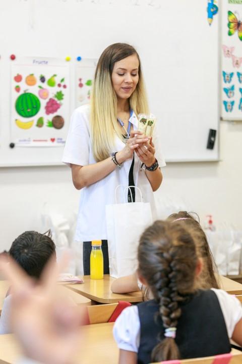 Sodexo: Peste 5.000 de copii din România au participat la orele de educație pentru nutriție și sănătate