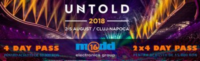 La Untold 2018 cu PCMadd