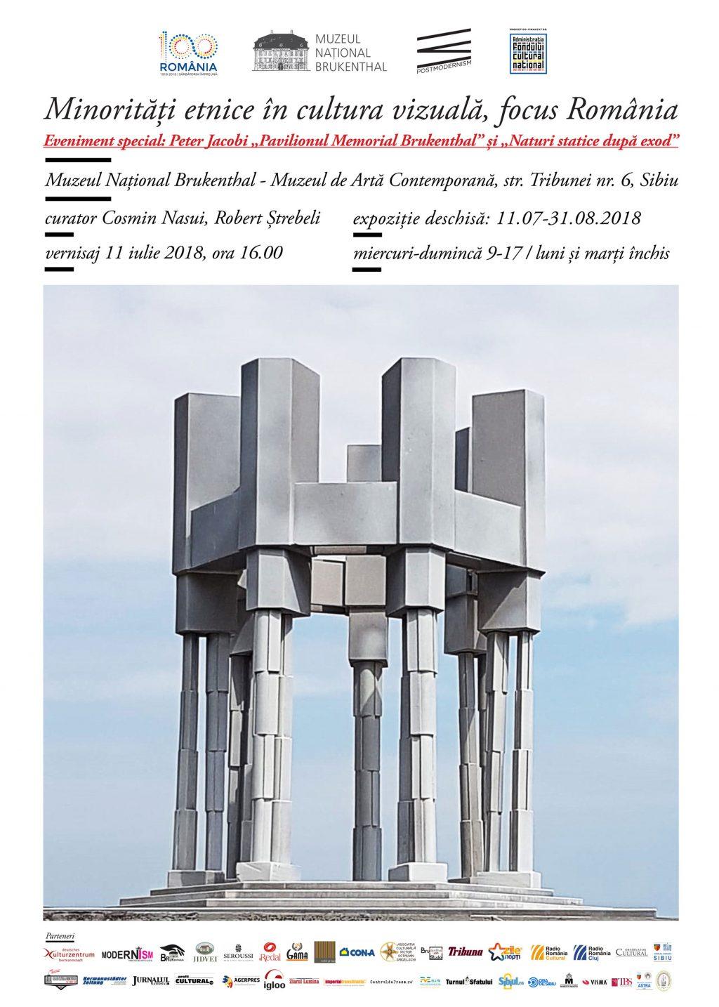 """Minoritati etnice in cultura vizuala, focus Romania @ Muzeul National Brukenthal Eveniment special in cadrul proiectului: Peter Jacobi, cu """"Pavilionul Memorial Brukenthal"""" si """"Naturi statice dupa exod"""""""