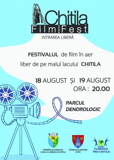 Chitila Film Fest 2018 – 18 si 19 August: mai bine de 10 ore de proiectii in aer liber