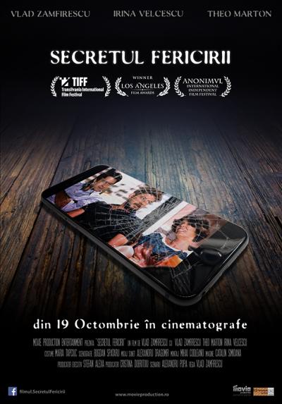 """A apărut trailerul oficial al filmului """"Secretul Fericirii"""", în regia lui Vlad Zamfirescu"""