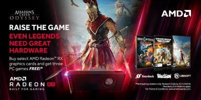 Star Control: Origins, Strange Bridage și Assasin's Creed Odyssey gratuit pentru PC la achiziționarea unei plăci grafice Radeon RX Vega, RX 580 sau RX 570