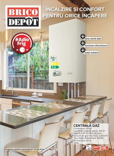Brico Depôt lansează noul catalog cu soluții complete pentru încălzirea locuinței