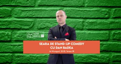 Show de stand-up comedy cu Dan Badea și Dan Țuțu, în premieră, pe terasa Mega Mall