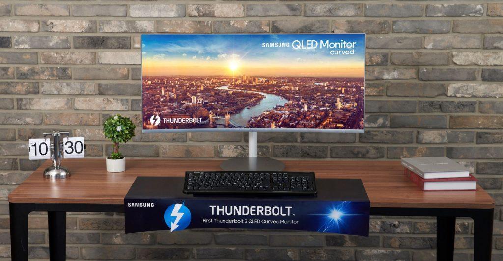 Samsung Electronics lansează primul monitor curbat QLED Thunderbolt™ 3 din lume, la IFA 2018