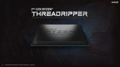 Generația a doua de procesoare AMD Ryzen Threadripper – Pre-sales care încep astăzi cu valabilitate începând cu 13 August