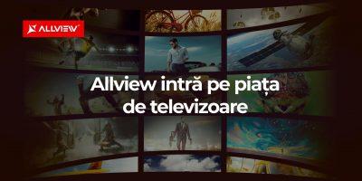 Allview intră în această toamnă pe piața de televizoare